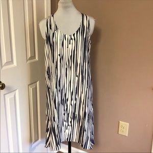 THEORY Silk Dress New with Tags Sz 8